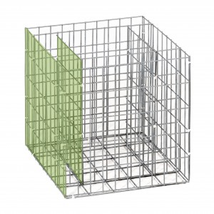 Gabion raised bed / Extension basket