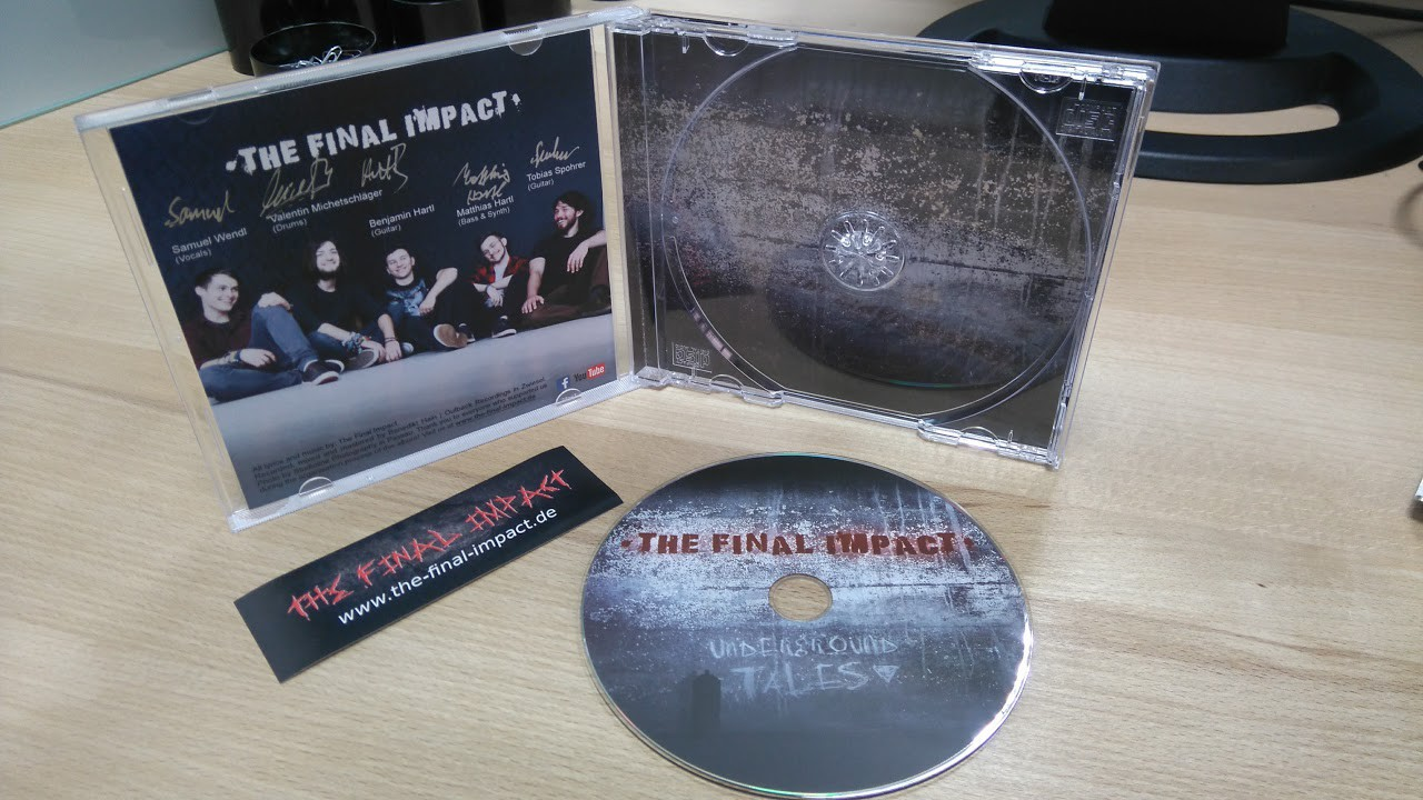The Final Impact - Underground Tales CD-Vorschau