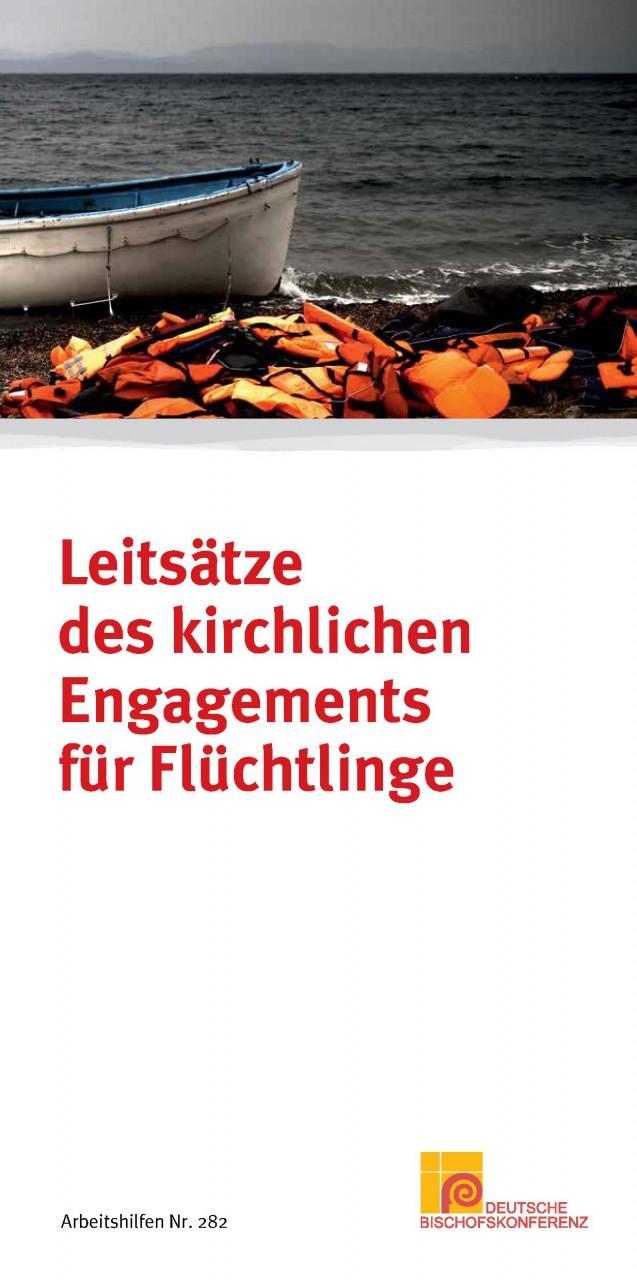 Leitsätze des kirchlichen Engagements für FlüchtlingeDBK_5282_01Titelseite.jpg