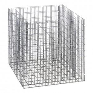 Tiefe 17 cm Maschenweite 5 x 5 cm ZAUNGABIONE Zaun-Gabione Breite 52 cm
