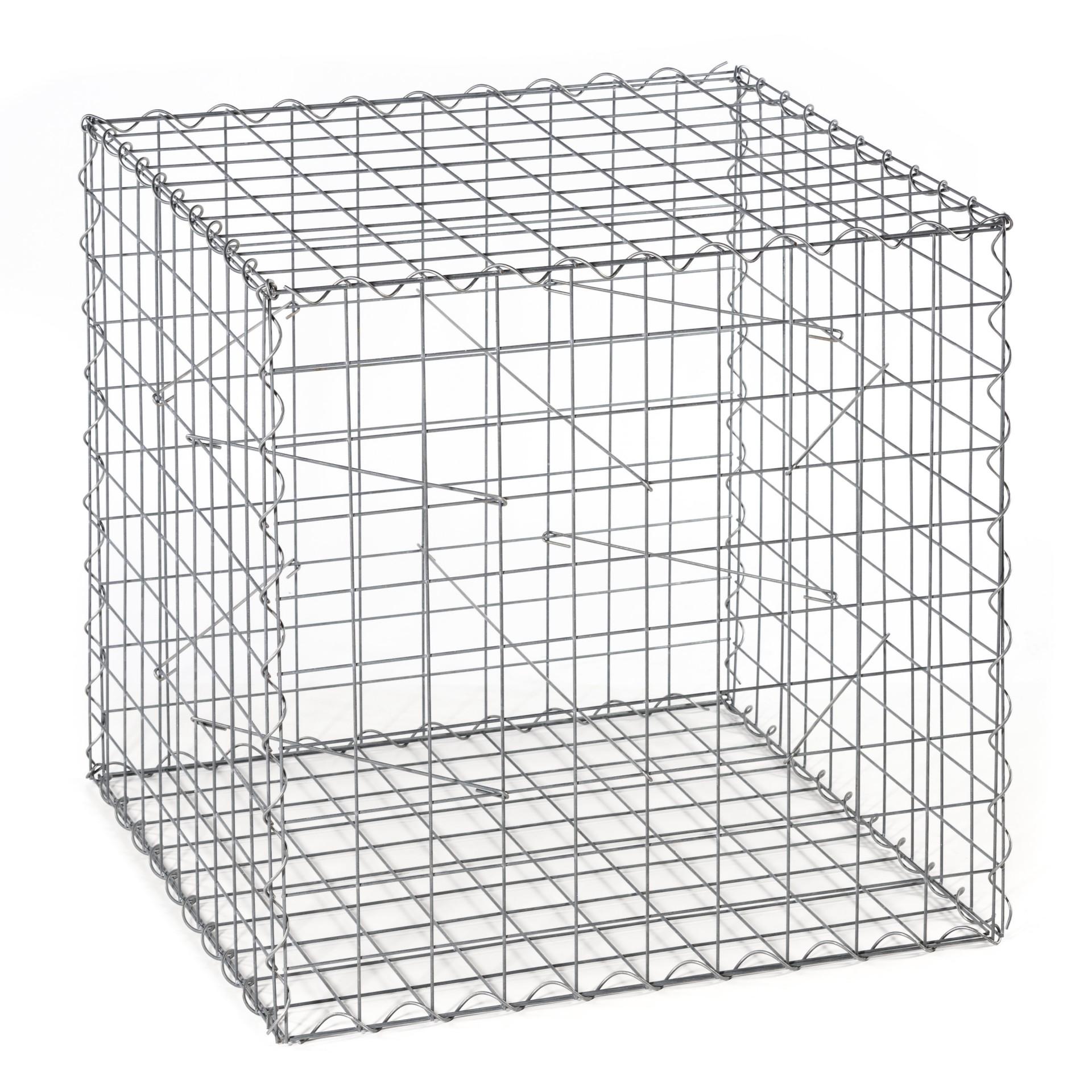 gabionengrundkorb typ a korb a 1000 x 1000 x 1000 mm mw. Black Bedroom Furniture Sets. Home Design Ideas