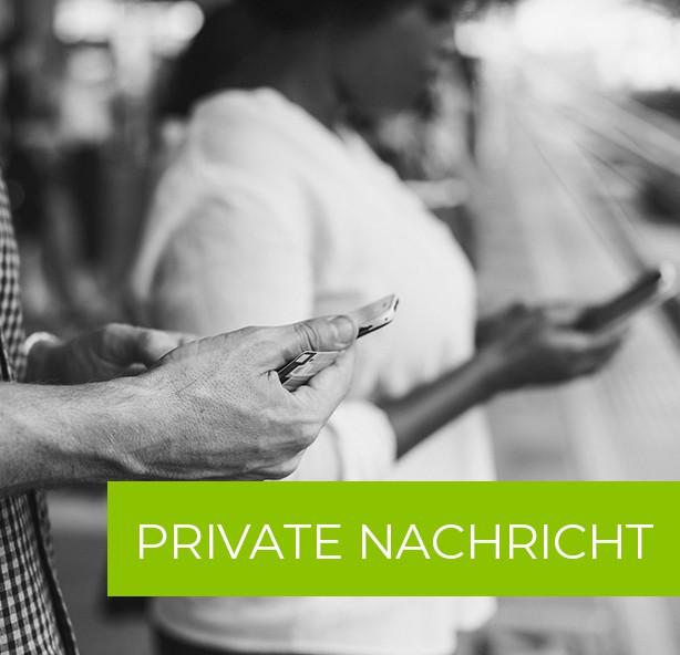 Private Nachricht an registrierte Benutzer