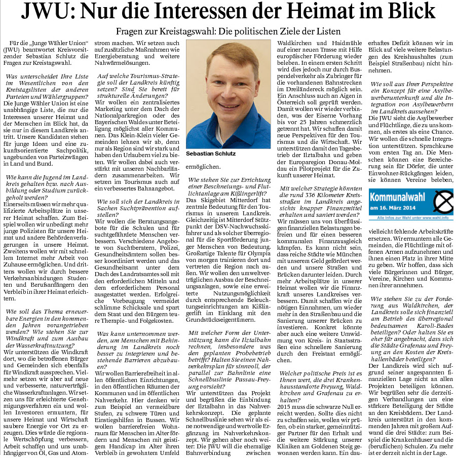Pressetext März 2014