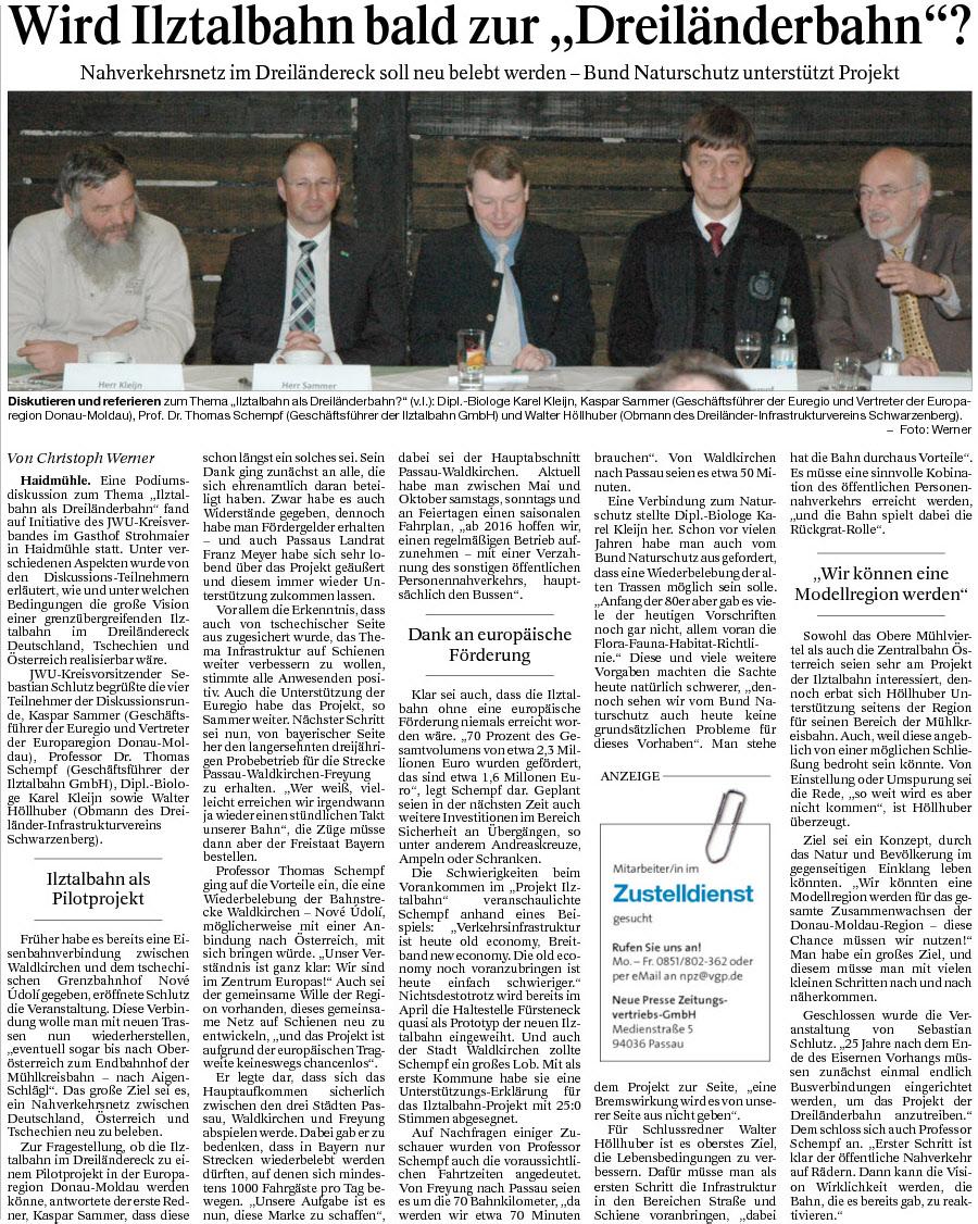 PNP Bericht Februar 2014