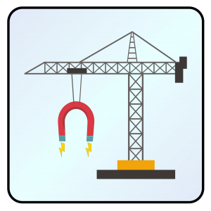 Mighty Magnetic Crane