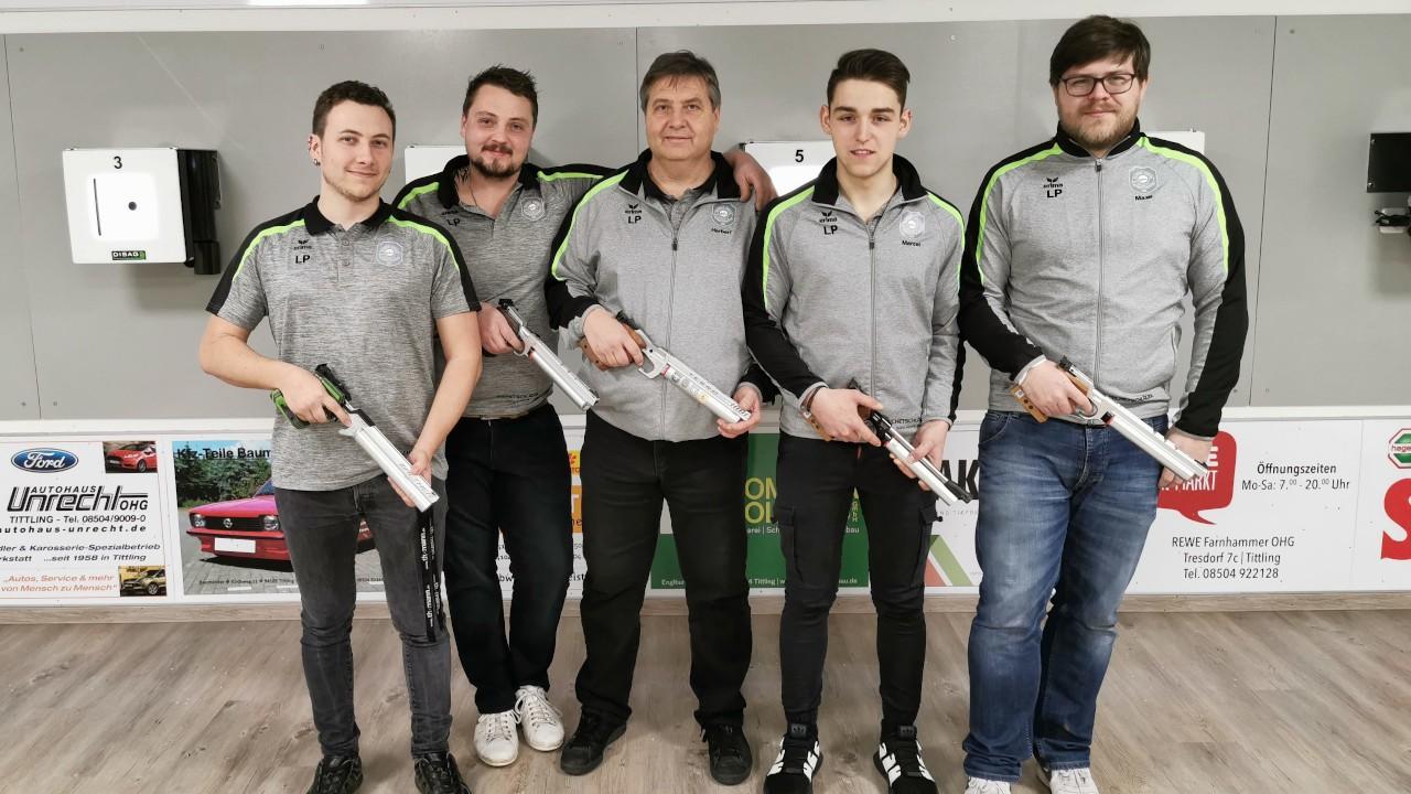 Luftpistolen Mannschaft 2019/2020