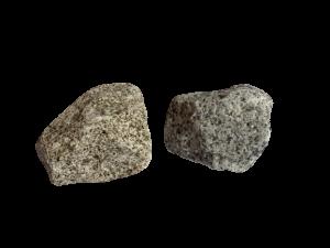Granit Grau-Gelb GS, 45-125 Korn, Gabionenstein