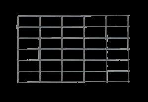 Gabion mesh panel