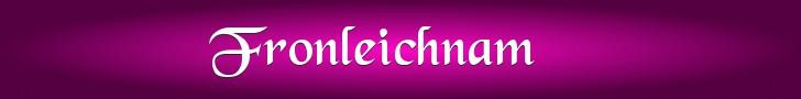 Banner Fronleichnam