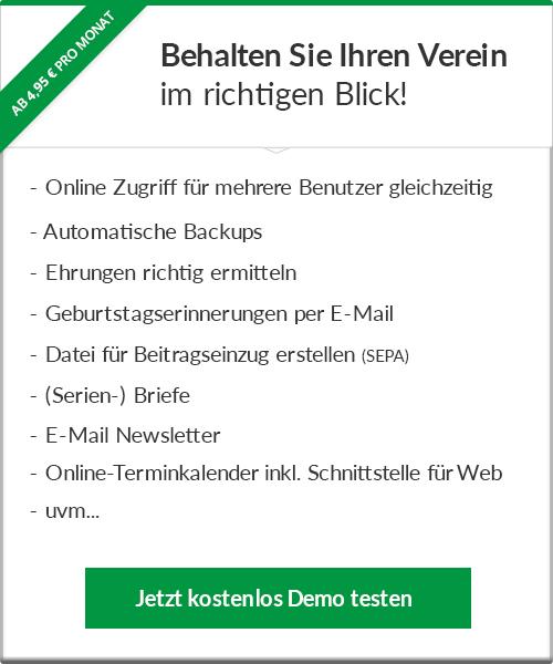 BWverein Angebot
