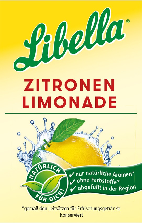 Libella Zitronenlimonade Bag in Box Postmix
