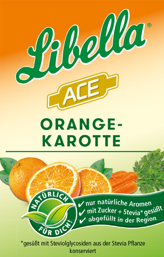 Libella Orange Karotte Bag in Box Postmix