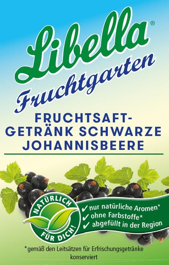 Libella Fruchtsaftgetränk Schwarze Johannisbere Bag in Box Postmix