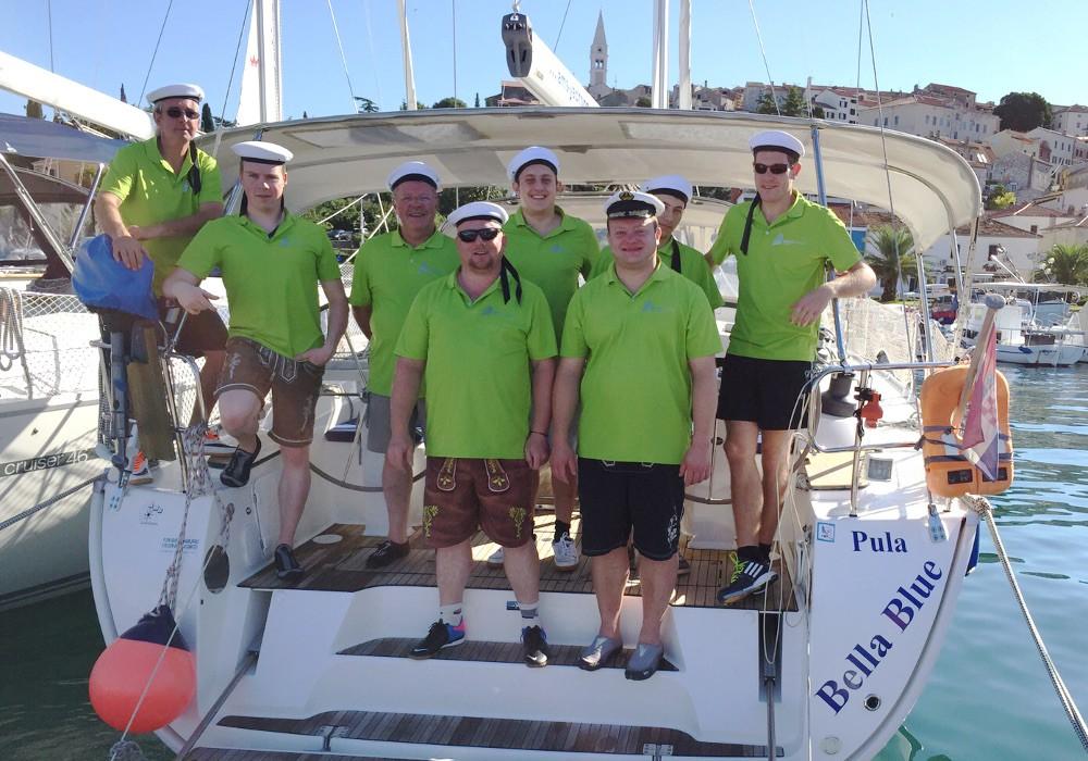 Die Crew der WAIDLERsegler 2015