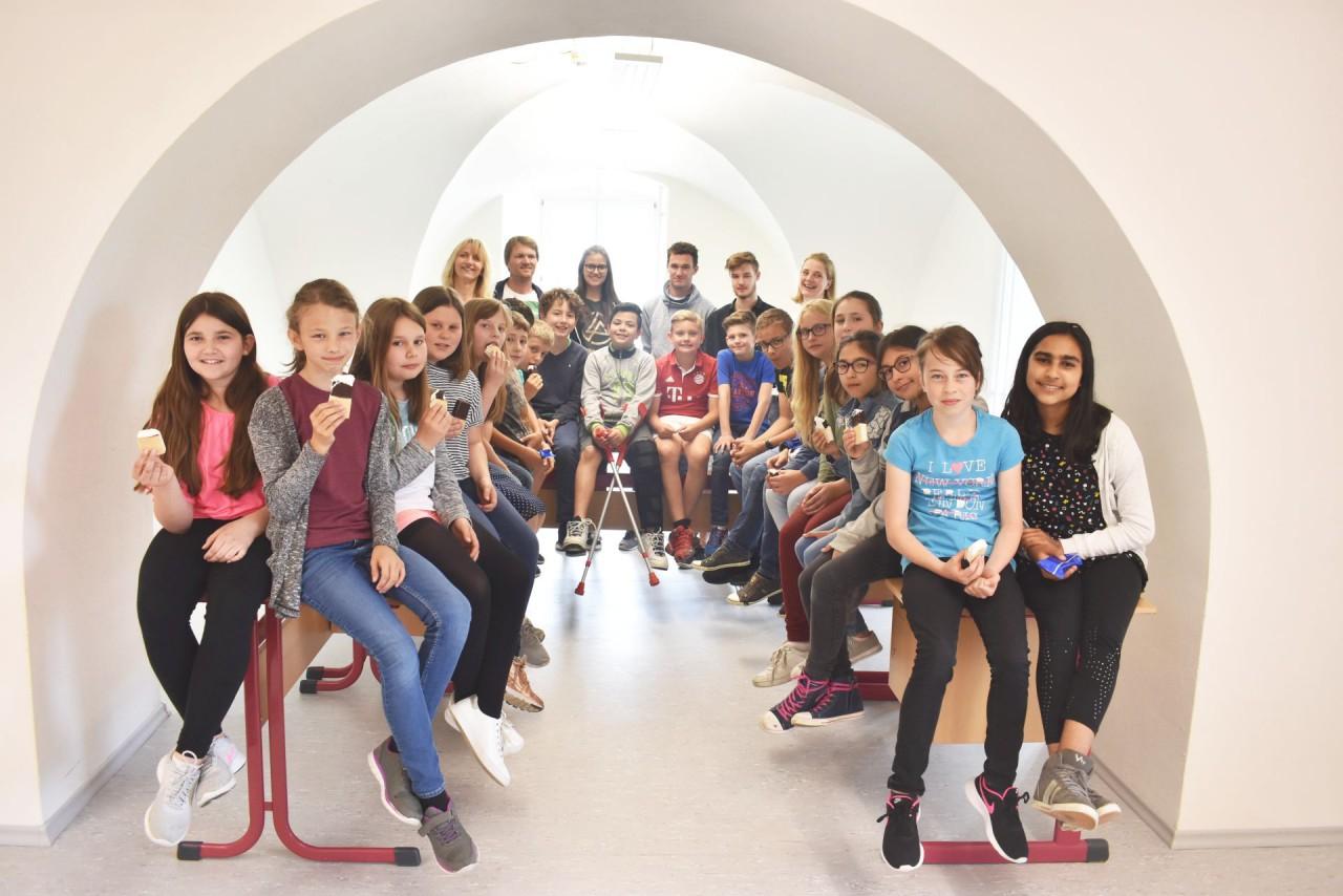 Das Schlossgewölbe – für Schüler ein Ort zur Ruhe und zur Entspannung