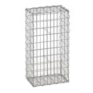 Gabion fence system