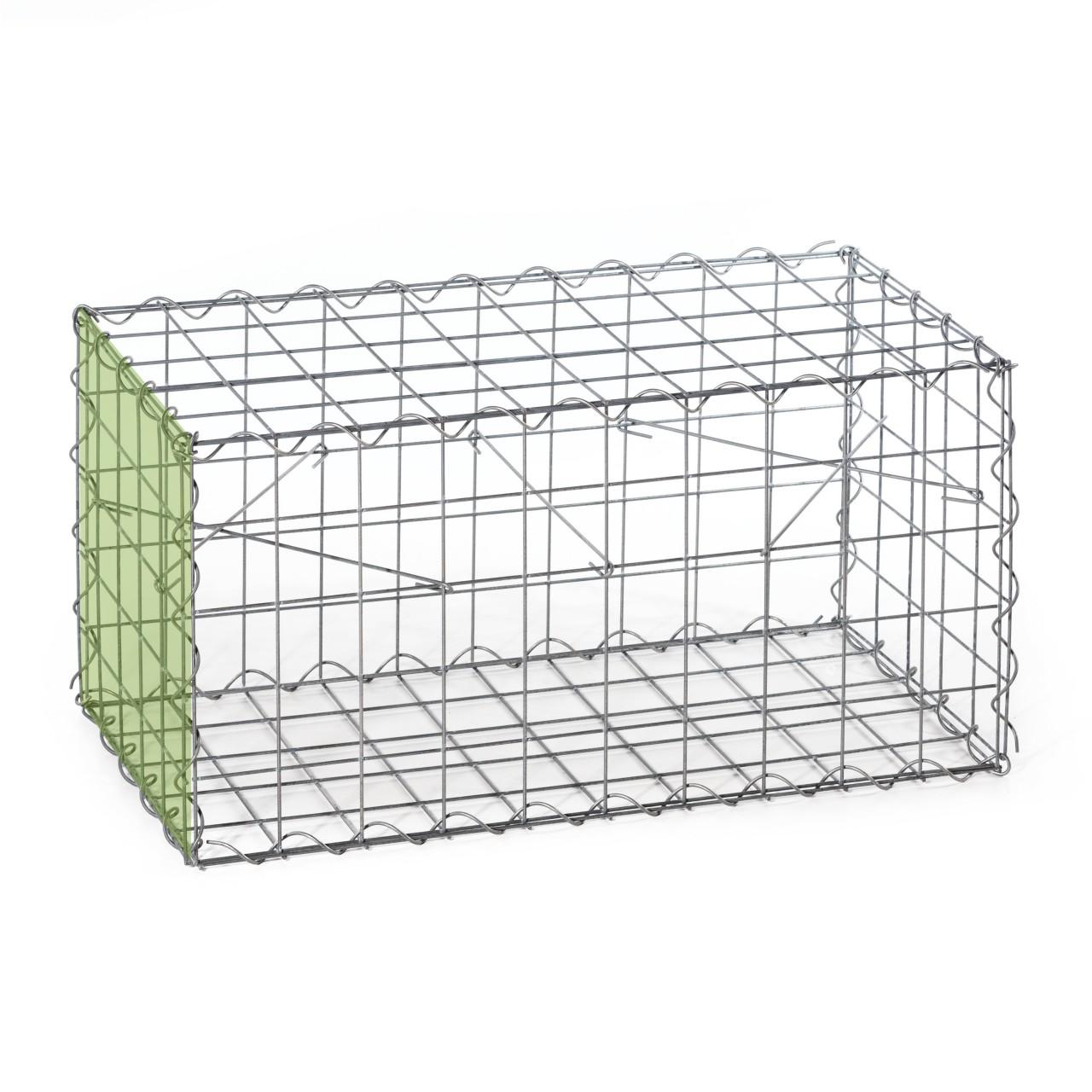 gabionenanbaukorb typ b korb b 1000 x 500 x 500 mm mw. Black Bedroom Furniture Sets. Home Design Ideas