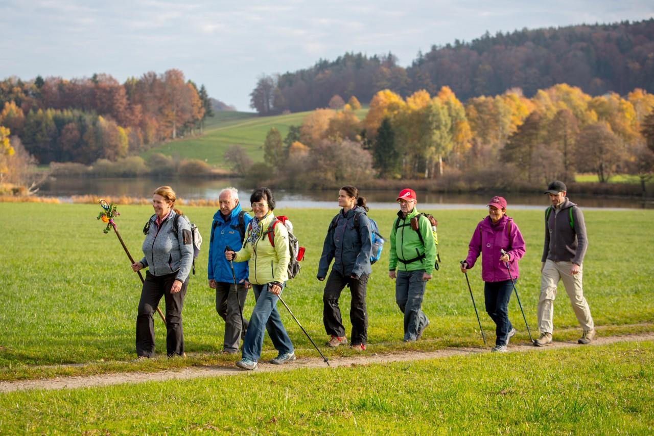 VIA NOVA Europäischer Pilgerweg  - Etappe  Salzburg Mattsee Egelsee 1   Chris Hofer.jpg